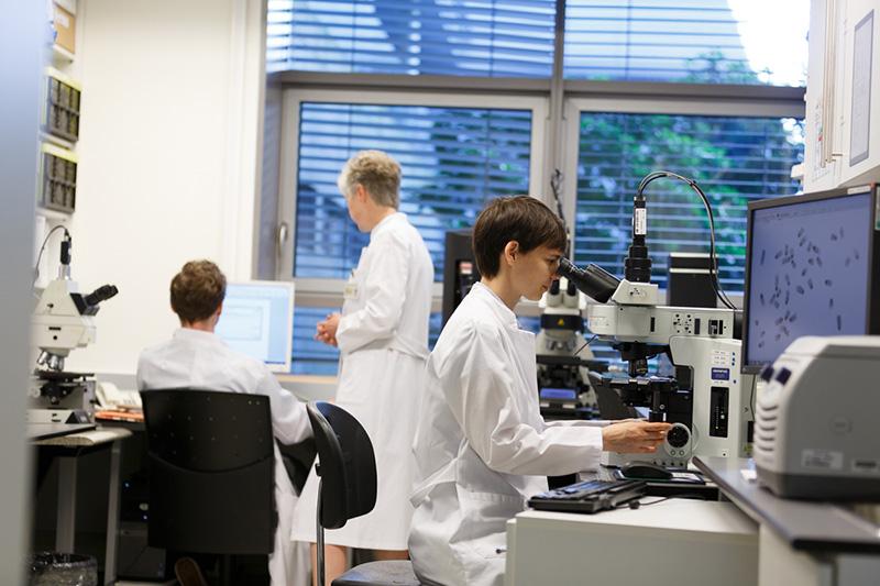 Genetik-Labor