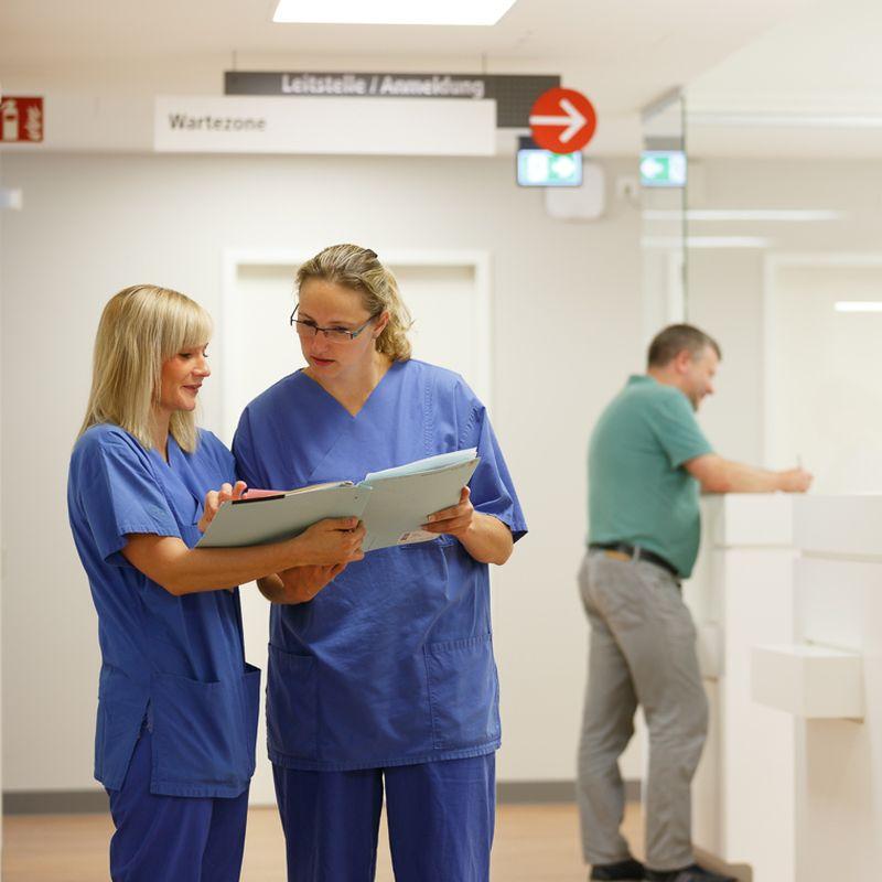 Patientenanmeldung